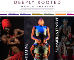 """Deeply Rooted Dance Theater is a community dedicated to nurturing artists, supporting human relationships and sharing common values through engaging in dance."""